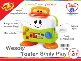 S.CENA Wesoły toster smily play AN0753