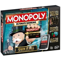 PROM Monopoly Ultimate Banking B667,C20187HASBRO