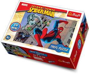 TREFL 54MINI SPIDERMAN 54101 193732,193725,193756,193749,