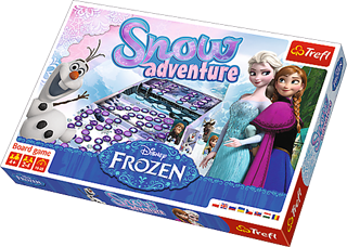 Gra snow adventure Frozen 01292