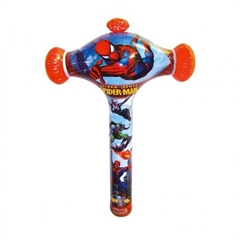 Dmuchaniec Crazy Bumper Spiderman 50cm z dzwonkiem God