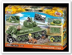 *SMALL ARMY /2486/ T34/85 RUDY 530 KL.