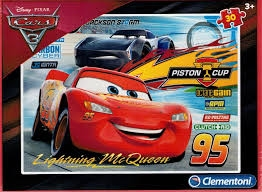 -CLE puzzle 30 Cars 3 08513
