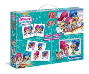 -CLE 4w1 edukit Shimmer and Shine 18008
