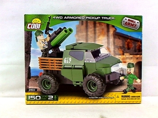 *SMALL ARMY /2160/ 4WD ARMORED PICKUP TRUCK 145KL