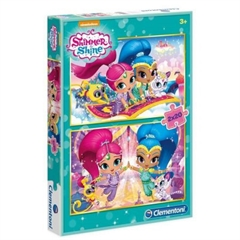 -CLE puzzle 2x20 Shimmer and Shine 07028