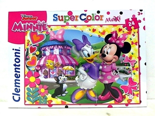 -CLE puzzle 24 maxi Minnie Happy Helpers24480