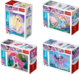 Puzzle -   miniMaxi   - Magia Kucyków / Hasbro, My Little Pony Movie 2017 210286,210318,210293,210309