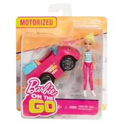 PROM Barbie On the Go Pojazd + lalka FHV76/6