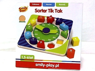 *SORTER TIK TAK SMILY PLAY 1/12