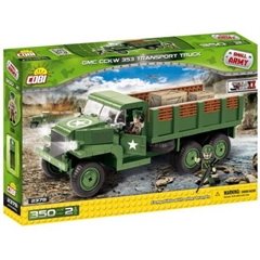 *SMALL ARMY /2378/ GMC CCKW 353 TRANSPORT TRUCK