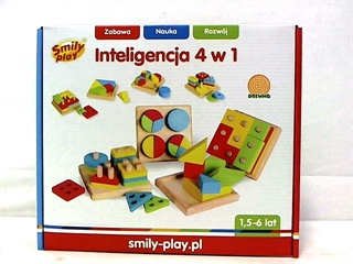 *INTELIGENCJA 4W1 SMILY PLAY 1/16