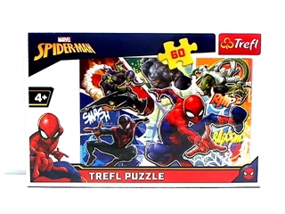 S.CENA Puzzle -   60   - Waleczny Spider-Man/Disney Marvel Spiderman