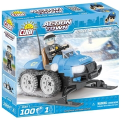 *ACTION TOWN /1544/ POLICE SNOWMOBILE 100 KL.