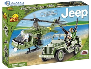 *Jeep/24254/Willys with helicopter 250