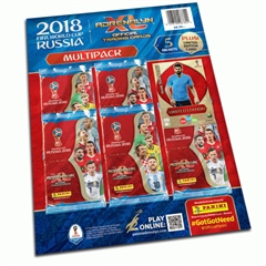 PROM Panini Fifa world cup Russia 2018 adrenalyn xl blister 5+1