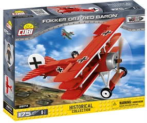 *SMALL ARMY /2974/ FOKKER DR.I   RED BARON   175 KL