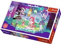 S.CENA Puzzle -   30   - Magiczny świat Enchantimals / Mattel Enchantimals