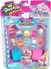 S.CENA SHOPKINS S6CHEF CLUB 12-PAK SHP56144