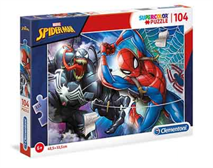 -CLE puzzle 104 Spiderman 27117