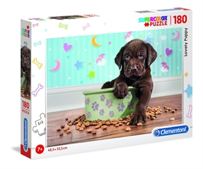 -CLE puzzle 180 Lovely Puppy 29754