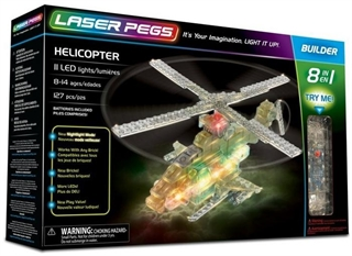 PROM HELICOPTER /LASER/8IN1 81012