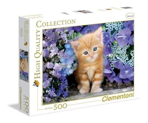 -CLE puzzle 500 HQ ginger cat 30415
