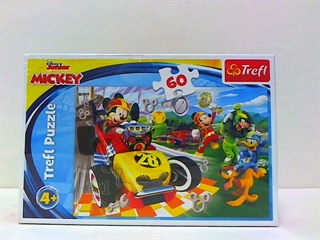 S.CENA Puzzle -   60   - Rajd z przyjaciółmi/Disney Mickey and the Roadster Racers