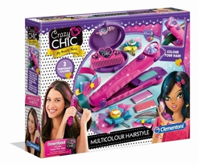 -CLE Crazy Chic multicolour hairstyle 78519