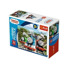 S.CENA Puzzle -   miniMaxi   - Tomek podróżnik/Thomas and Friends