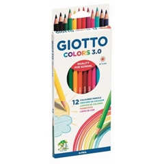 PROM GIOTTO KREDKI COLORS 12 SZT