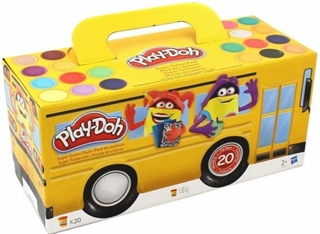 PROM PLAY-DOH CIASTOLINA AUTOBUS SUPER COLORPACK 1680G