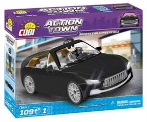 *ACTION TOWN /1803/ SPORTS CAR CONVERTIBLE 109 KL