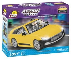*ACTION TOWN /1804/ SPORTS CAR CONVERTIBLE - GTS