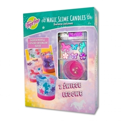 -MAGIC SLIME CANDLES JEDNOROŻEC