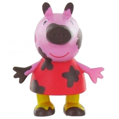 S.CENA Peppa Pig on the mud 6cm