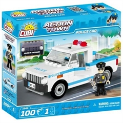 *ACTION TOWN /1546/ POLICE CAR 100 KL.