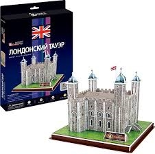 S.CENA Puzzle 3D 40el. 7151 Tower Of LondonCUBIC FUN