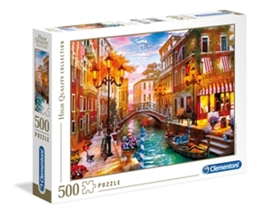 -CLE puzzle 500 HQ Sunset over Venice 35063