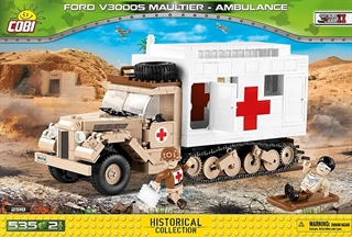 *SMALL ARMY /2518/ FORD V3000S MAULTIER AMBULANCE