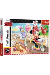 S.CENA Puzzle -   200   - Minnie na plaży /Disney Minnie