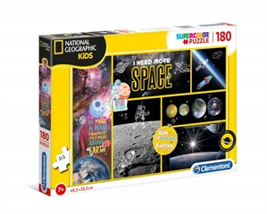 -CLE.puzzle 180 NatGeogrKids I need moreSpace 29206