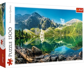 S.CENA Puzzles -_1500_- Lake Oeschinen, Alps,Switzerland