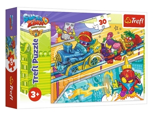 S.CENA Puzzles - _30_ - Super Zings - pursuitof adventure / Magic Box Super Zings