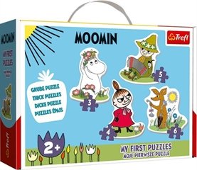S.CENA Puzzles - _Baby Classic_ - Happy Moomins / R amp;B Licensing AB Moomins