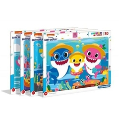 -CLE puzzle 30 ramkowe SuperKolor Baby Shark 22109