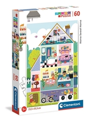 -CLE puzzle 60 SuperKolor Home Sweet Home 26062