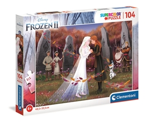 -CLE puzzle 104 SuperKolor Frozen2 25719
