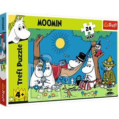 S.CENA Puzzles - _24 Maxi_ - Happy Moominday/ R amp;B Licensing AB Moomins