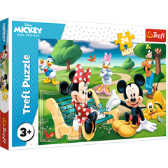 S.CENA Puzzles - _24Maxi_ - Mickey Mouseamongfriends
